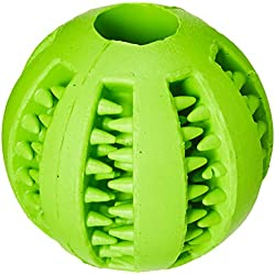 Wendin Toy IQ Ball for Dogs & Cats Dental Treat Bite