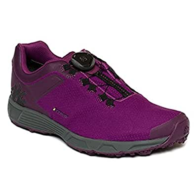 Icebug Women's DTS3 RB9X GORE-TEX Traction Running Shoe, DkMagenta/Carbon, 10.5