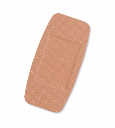 Medline NON25504 Curad Plastic Adhesive Bandages, 2''x4'', Natural (Case of 600)