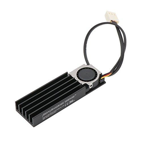 Advancing Gene NVMe M.2 SSD Cooler Heatsinks with 20mm Fan,