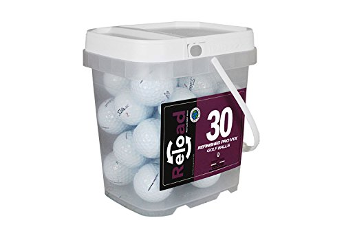 Titleist Reload Recycled Golf Balls Pro v1X Refurbished Golf Balls (30 Pack) by Titleist