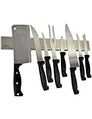 Magnetic Strips For Kitchen Knives | Amazon Com Magnetic Knife Strips Home Kitchen
