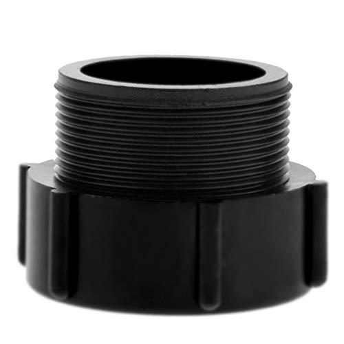 1000L IBC Tote Valve Adapter, Plastic Ton Barrel Valve Thread Hose Connector, Coarse Filament Conversion, Fittings for Hoses BSP Pipes DN50