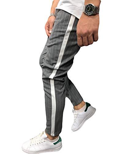 Mikely Store Dark Pantaloni Gray Uomo v1Bvqxwg