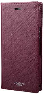 "GRAMAS COLORS""EURO Passione"" PU Leather Book Case for Xperia™ Ace (Wine)"