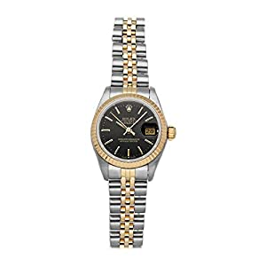Best Epic Trends 41ZXSiAwwZL._SS300_ Rolex Datejust Mechanical (Automatic) Black Dial Womens Watch 79173 (Pre-Owned)