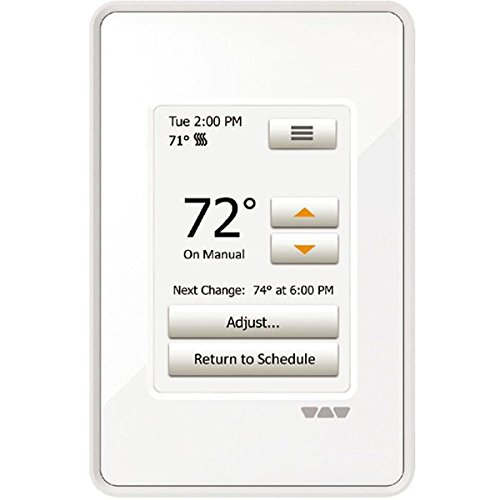 Ditra Heat Touchscreen Programmable Floor Heating Thermostat 120v/240v DITRA-HEAT-E-RT
