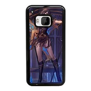 Funda HTC uno M9 caja del teléfono celular Funda Negro Sivir V3F9HD