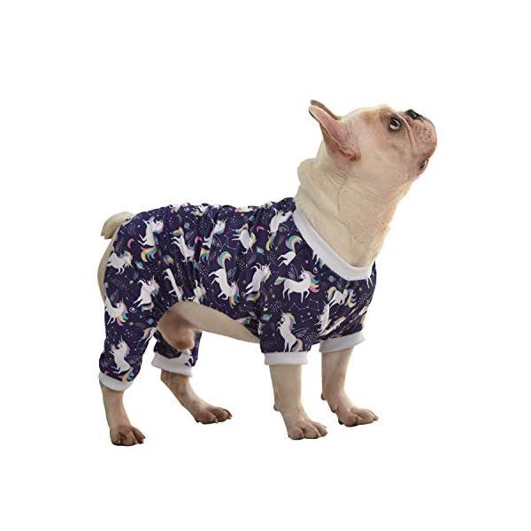 CuteBone Dog Pajamas Cute Cat Clothes Pet Pjs Onesie