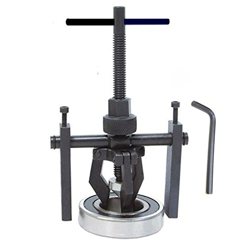 Pilot Bearing Puller,Qiilu 3 Jaw Pullers Set Bushing Gear Extractor Wheel Bearing Puller Heavy Duty Automotive Machine Tool Kit for Car SUV