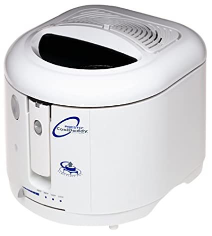 amazon com presto 05444 cooldaddy cool touch electric deep fryer rh amazon com presto deep fryer troubleshooting presto deep fryer manual 0692505