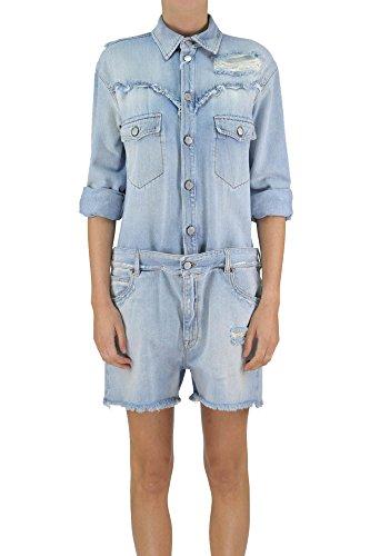 Maison 6 Light (Maison Margiela Mm6 Women's Mcglvs003041e Light Blue Denim Dress)