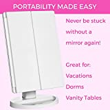 Absolutely Luvly Trifold Vanity Mirror with Lights