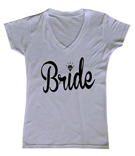 Womens Wedding Bride V neck product image