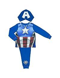 Marvel Avengers Assemble Captain America Boys Pyjamas - 2-8 Years