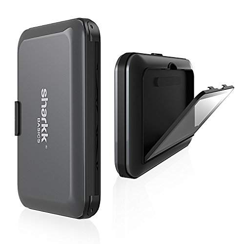 Sharkk Basics Card Id Wallet Rfid Aluminum Protected