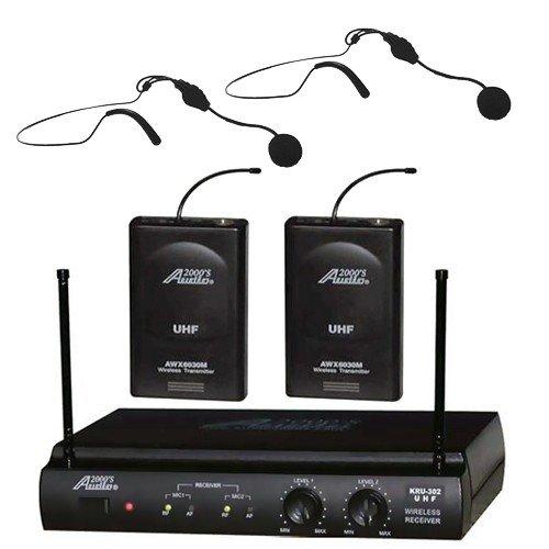 Uhf Dual Channel Wireless Microphone - 8