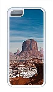 iPhone 5C Case Monument Valley 1 TPU Custom iPhone 5C Case Cover White