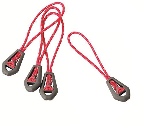 MSR 5832  Universal Zipper Pulls, Red (Msr Glove)