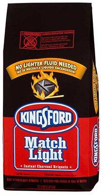 Kingsford Products 31259 Match Light Charcoal Briquettes, 11.6-Lb. Bag - Quantity 30