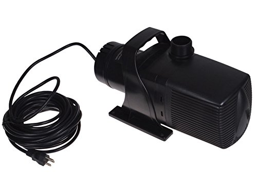 Submersible Water Pump 5283 GPH Garden Patio Pond Pool Fountain Jets Filter Systems Sump Waterfall Fishpond Indoor Outdoor Use by HPW