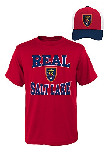 MLS Youth Boys 8-20 Salt Lake Tee & Hat Set, S(8), Assorted by MLS by Outerstuff