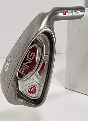 Ping. Faith #8 Iron Red Dot (Graphite, Ladies) Golf Club, Right Handed