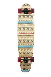 Quest Native Spirit Kick Tail Longboard Skateboard, 40-Inch by Made In Mars