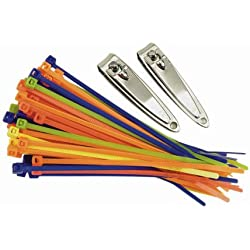 Travelon Travel Accessories Secure-A-Bag Cable Ties - Multi-Color