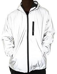912a0b4dd5 3M Reflective Coat Hooded Windbreaker Fashion Runing Pocket Jacket