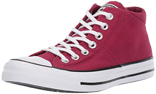 Converse Women's Chuck Taylor All Star Madison Mid Top Sneaker Rhubarb/White, 7 M US -