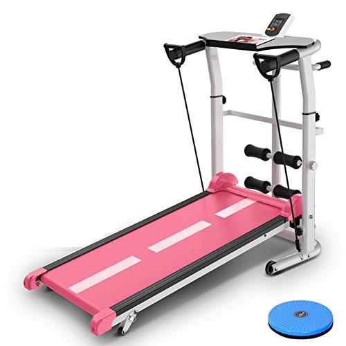 Treadmills QFF@ niet-elektrische zuivere mechanische vier in een multifunctionele mini opvouwbare fitness loopmachine…