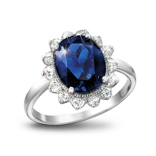 the kate middleton engagement ring replica royal inspiration by the bradford exchange amazoncom - Princess Kate Wedding Ring