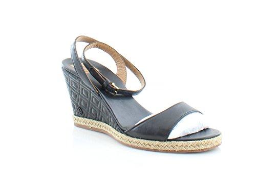 8c39cfbf00c Tory Burch Marion Women s Sandals   Flip Flops Black Size 7.5 (Tory Burch  Wedge Flip