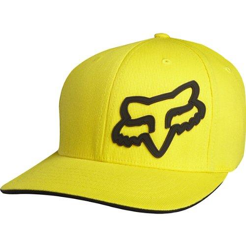 Fox Racing Signature Kids Flexfit Sports Wear Hat/Cap - Yellow (Fox Racing Casual Wear)