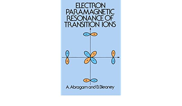 Transition Ion Electron Paramagnetic Resonance