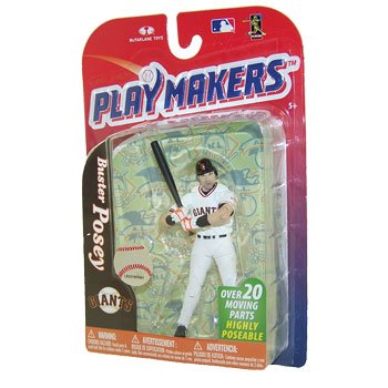 McFarlane Playmakers: MLB Series 4 Buster Posey - S.F. Giants 4 inch Action Figure