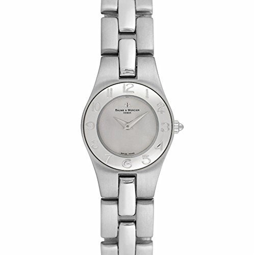 Baume & Mercier Linea swiss-quartz womens Watch MOA08109 (Certified Pre-owned)