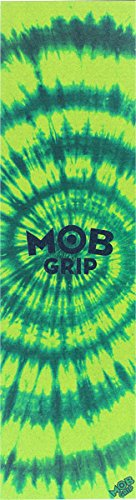 Mob Grip Green / Yellow Tie Dye Grip Tape - 9 x 33 by Mob Grip