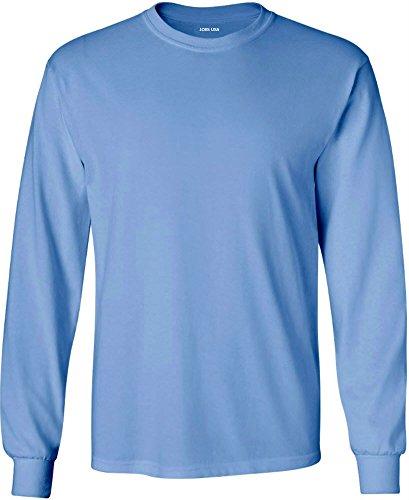 Joe's USA - Long Sleeve 6.1-Ounce Cotton - Long Sleeve Usa Carolina