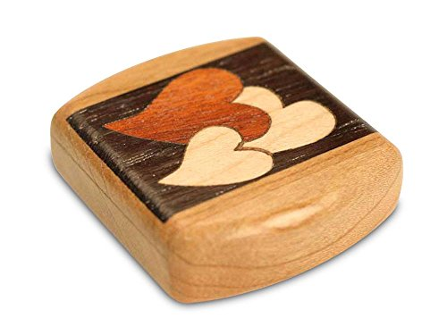 Marquetry Box (Heart Marquetry Secret Box)