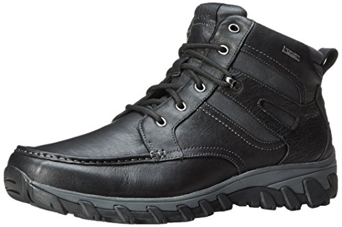 Rockport Men's Cold Springs Plus Mocc Toe Boot - High 7 Eyelets (8 Eyelet Leather)