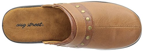Women's Crocodile Easy Ozone Tan Street Mule XFBnq5