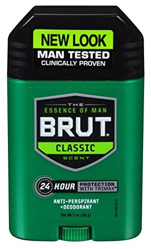 BRUT Anti-Perspirant Deodorant Stick Classic Scent 2 oz (Pack of (Classic Anti Perspirant Deodorant)