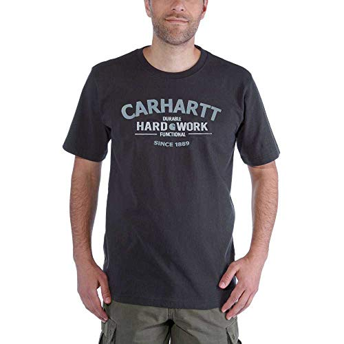 Men Heather Grafica Work Carhartt Carbon T Hard shirt dxqZRw