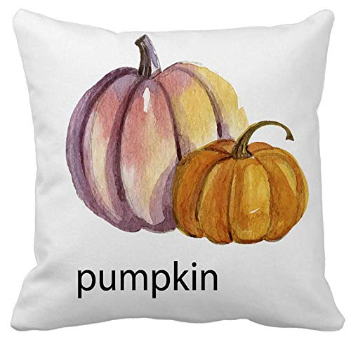 HGWXX7 Halloween Pillows Cover Super Soft Home Decor Cotton Square Pillow Case Sofa Waist Throw Cushion Cover(H-7)