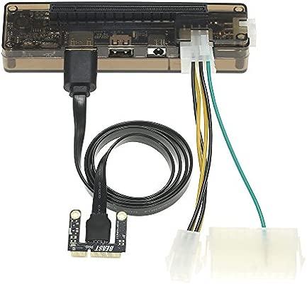 Docooler Laptop externo independiente tarjeta gráfica Gráficos Dock ExpressCard Versión/Key Versión/Mini PCI-E Versión para v8.0 EXP GDC Beast