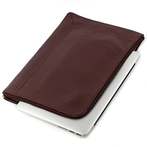 Cowhide Leather Skin Case (GENUINE LEATHER LAPTOP SLEEVE FOR APPLE MACBOOK AIR (13