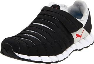 PUMA Men's Osu Running Shoe,BlackGrayVioletRed,8.5 D US