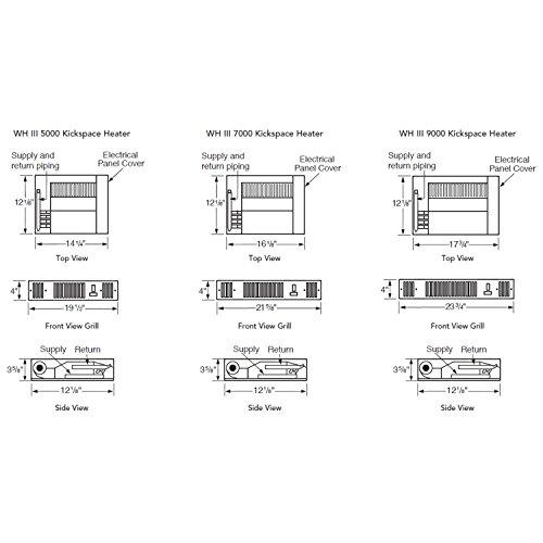 myson whispa iii 9000 hot water kickspace heater heaters amazon com rh amazon com Water Heater Element Wiring-Diagram Atwood Water Heater Diagrams